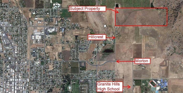 77.16 acres by Porterville, California for sale