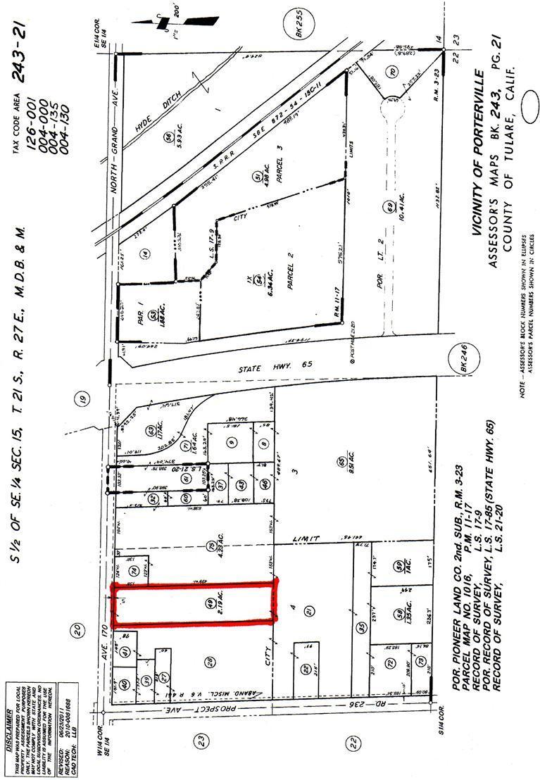 1139 W North Grand Ave, Porterville, CA 93257