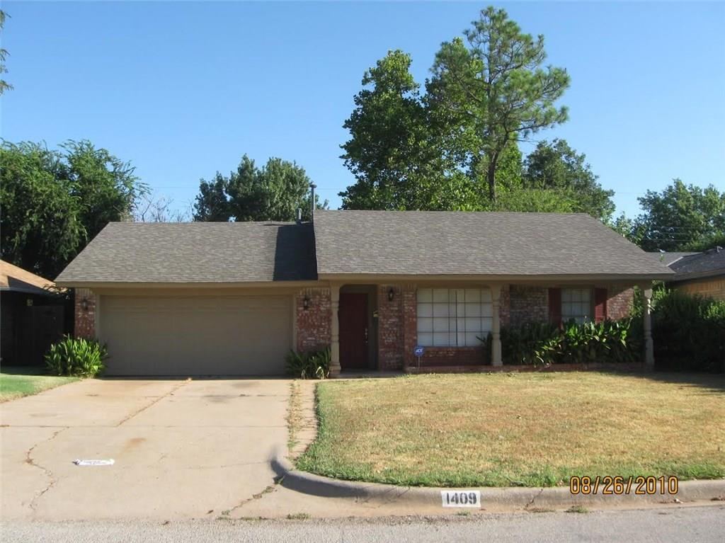 Photo of 1409 NW 105 Terrace  Oklahoma City  OK