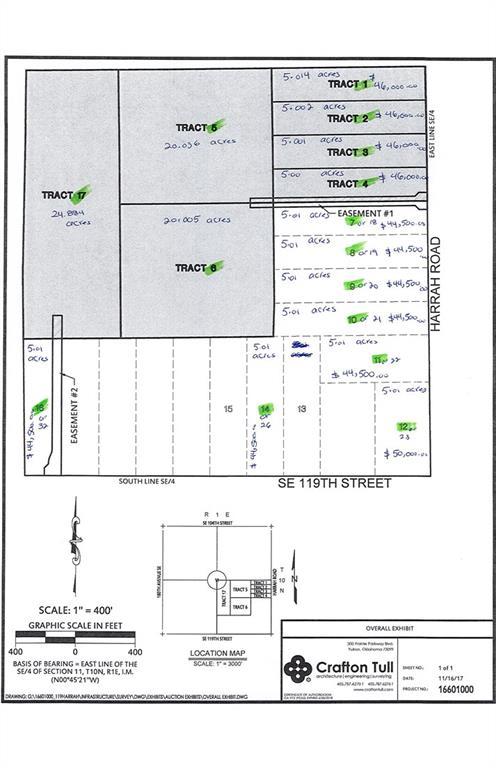 SE 119th St & Harrah Road McLoud, OK 74851