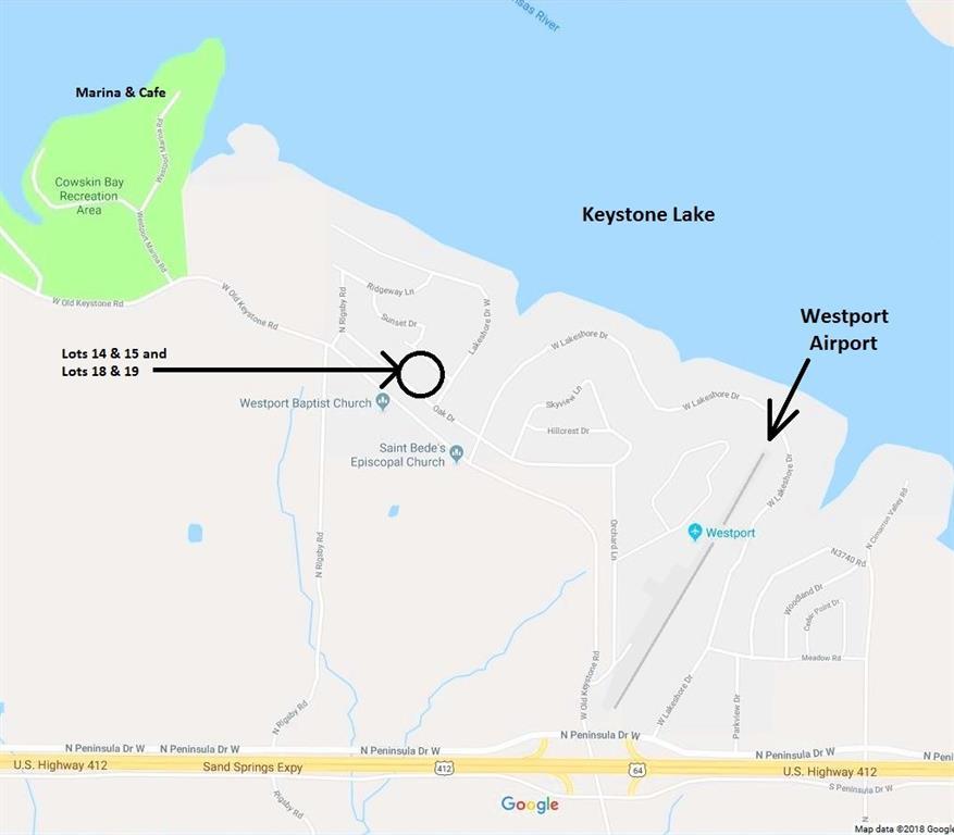 Oklahoma Waterfront Property In Ponca City Pawuska Kaw Lake Long