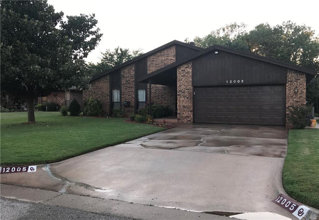 12005 Western View Drive, Oklahoma City NW in Oklahoma County, OK 73162 Home for Sale