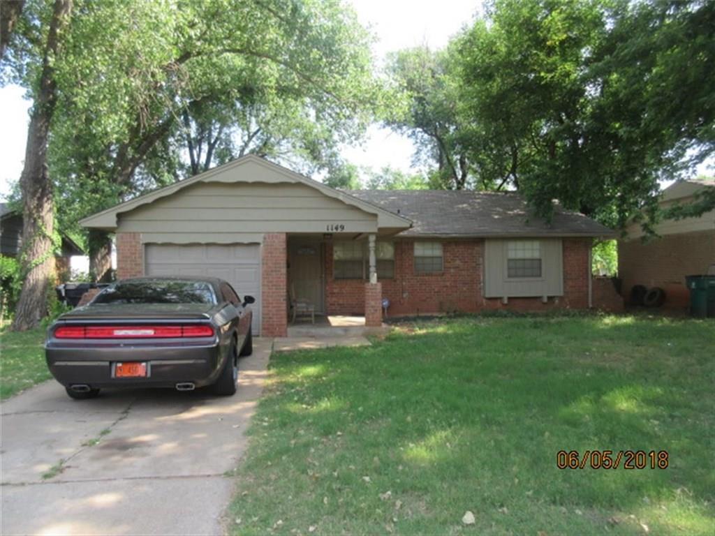1149 SE 23rd Street, Oklahoma City Central, Oklahoma