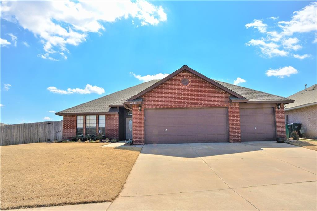 One of Oklahoma City Southeast 4 Bedroom Homes for Sale at 6024 SE 86th Street