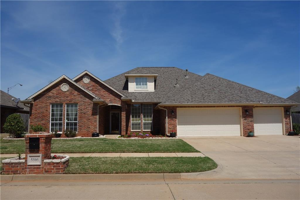 One of Oklahoma City West 4 Bedroom Homes for Sale at 5505 NW 107th Street