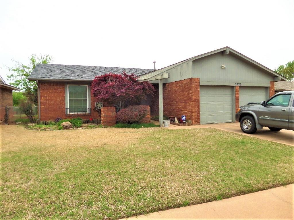 3220 SE 55 Street, Oklahoma City Southeast in Oklahoma County, OK 73135 Home for Sale