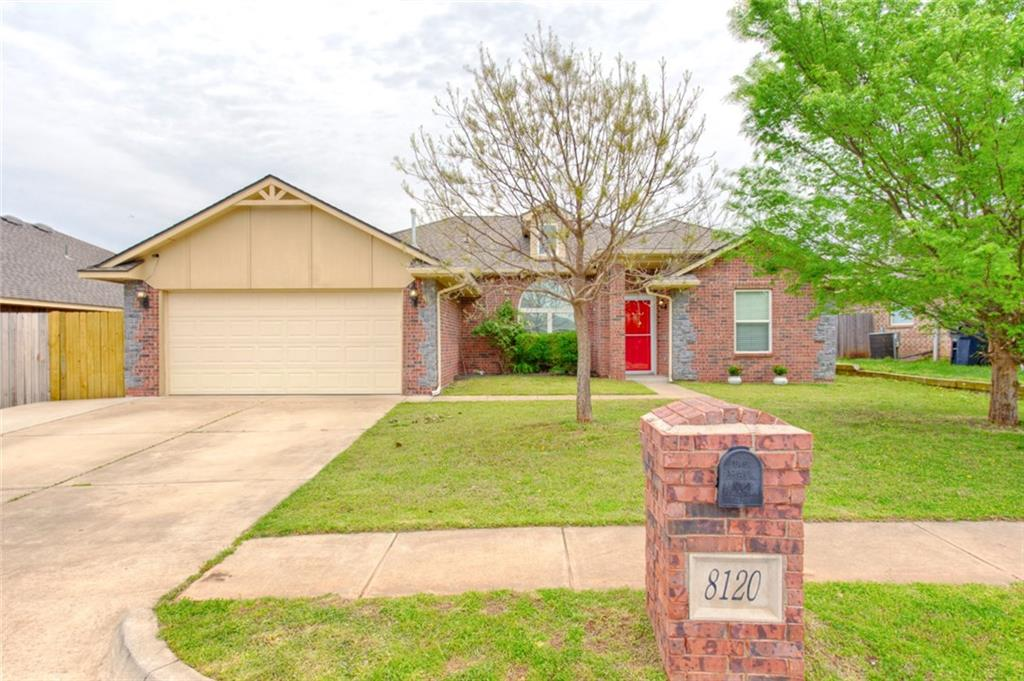 One of Oklahoma City Southeast 4 Bedroom Homes for Sale at 8120 Breezewood Drive