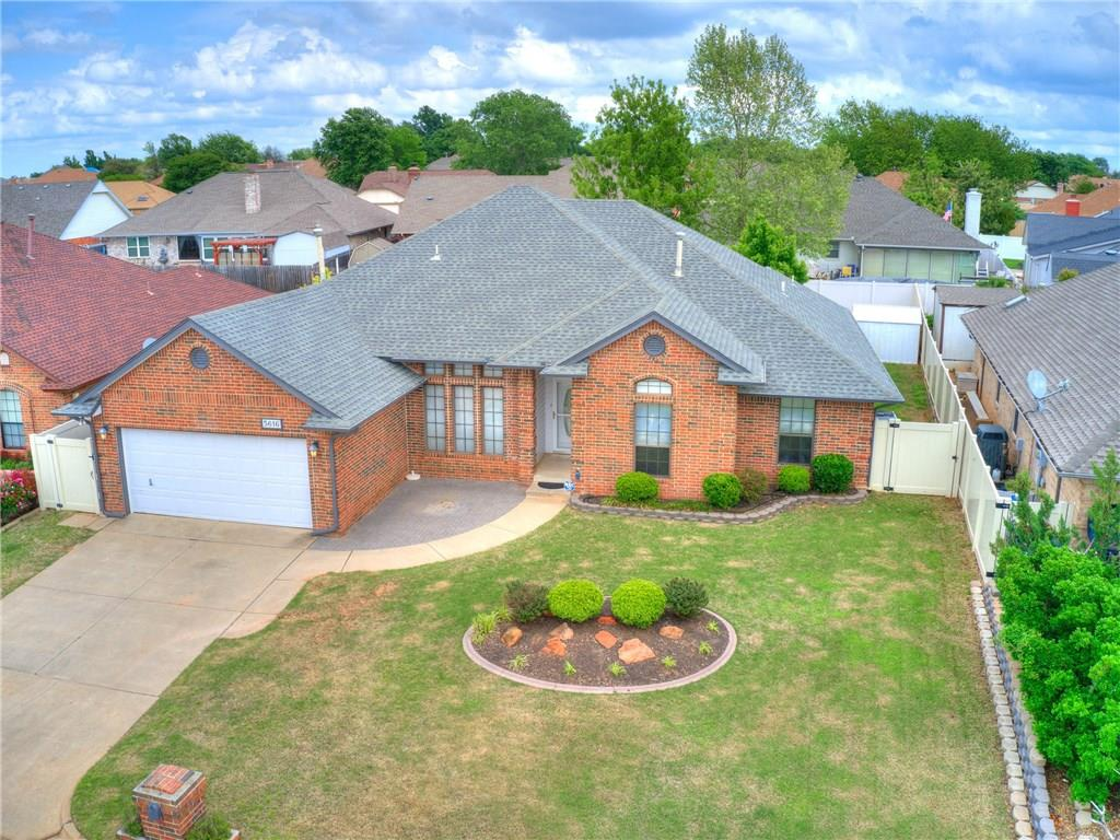 One of Oklahoma City Southeast 4 Bedroom Homes for Sale at 5616 Woodmont Drive