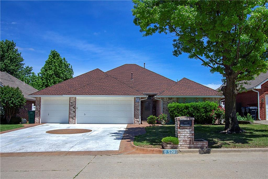 One of Oklahoma City Southeast 4 Bedroom Homes for Sale at 5209 SE 46th Street