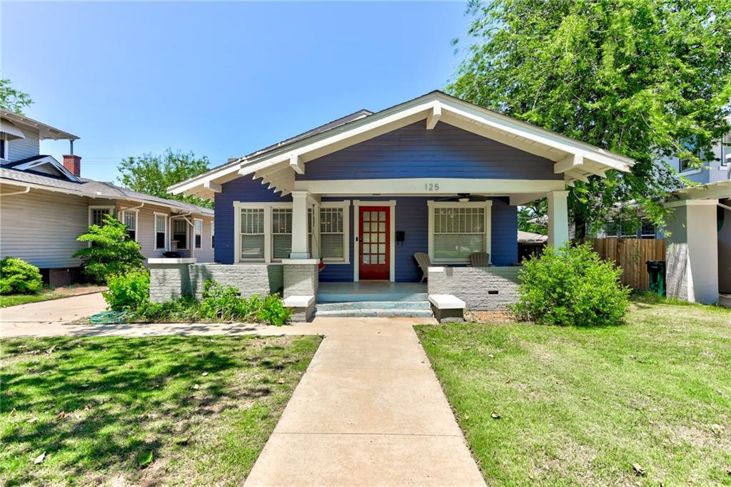 One of Oklahoma City Central 2 Bedroom Homes for Sale at 125 NW 22nd Street