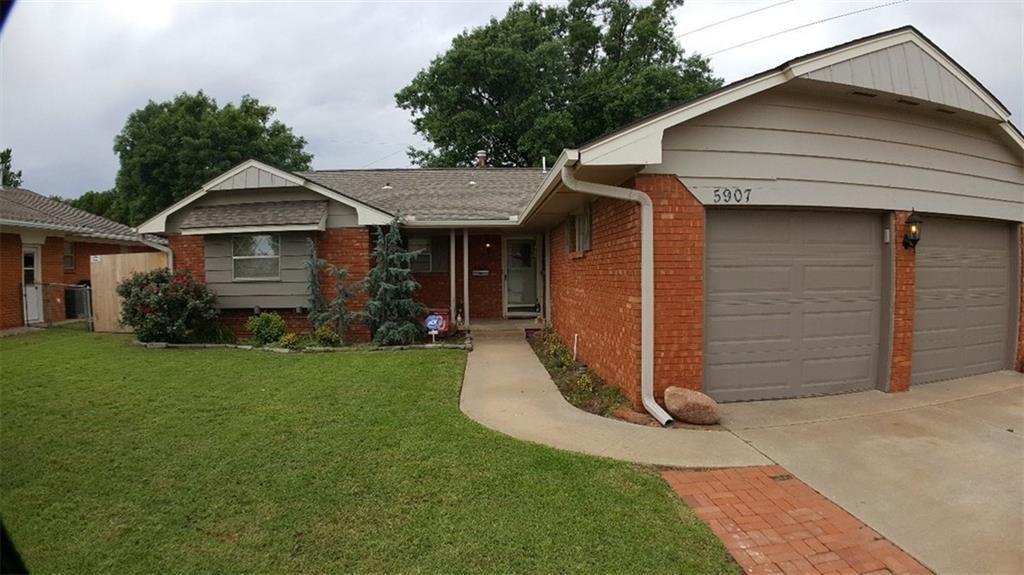 5907 N Tulsa Avenue, Oklahoma City NW in Oklahoma County, OK 73112 Home for Sale
