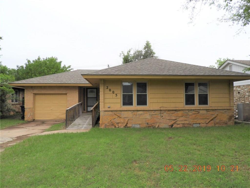 2005 Carlisle Road, Oklahoma City NW in Oklahoma County, OK 73120 Home for Sale