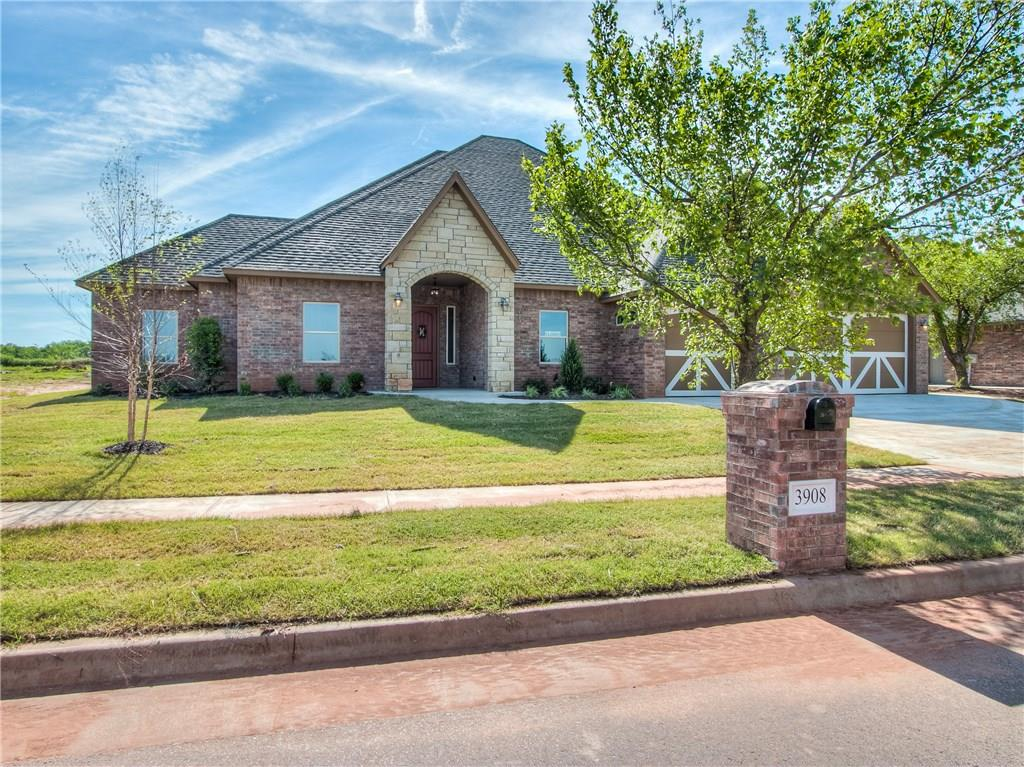 3908 Hunter Glen Drive, one of homes for sale in Oklahoma City Southwest