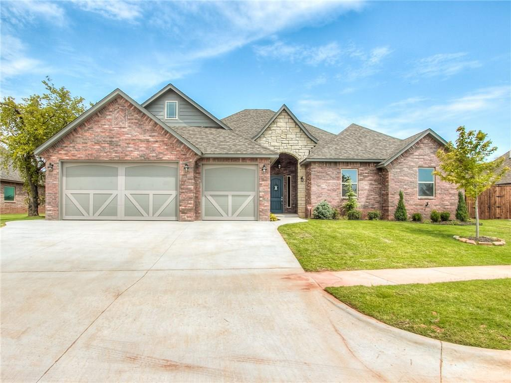 4000 Hunter Glen Drive, one of homes for sale in Oklahoma City Southwest
