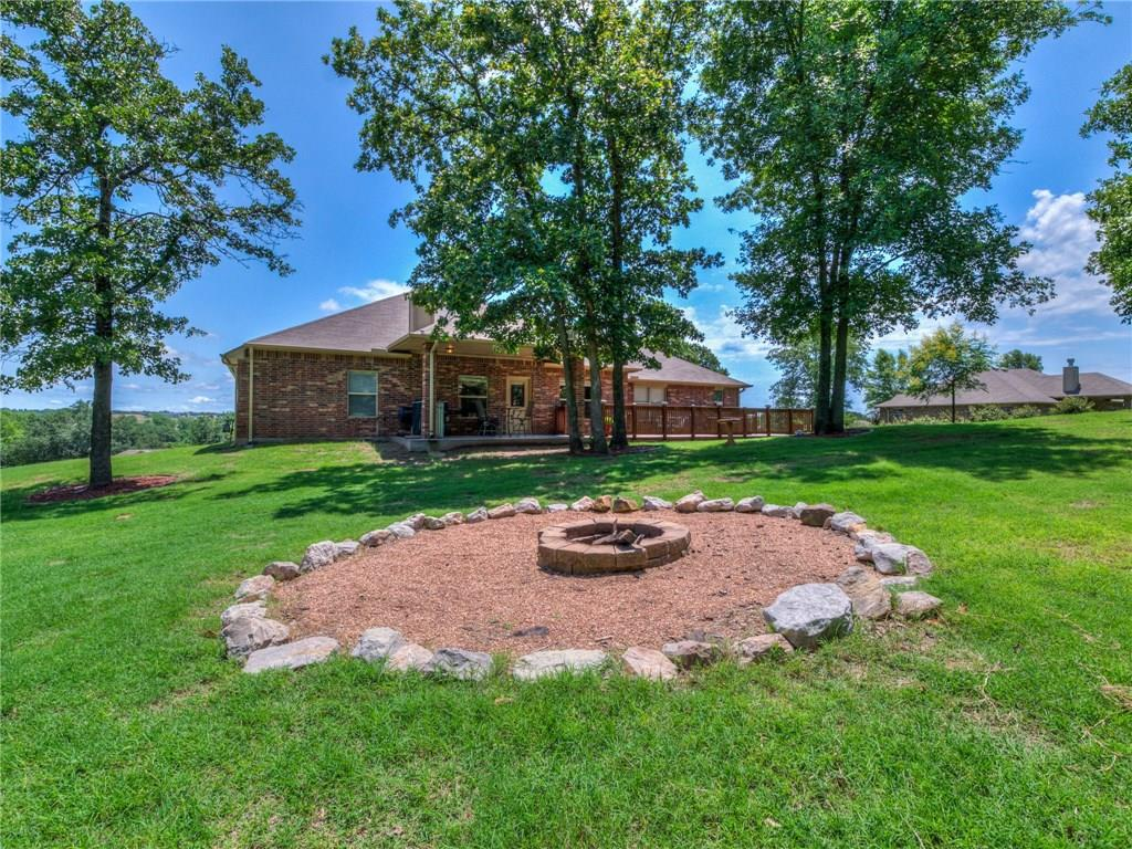 7213 Morning Song Drive, one of homes for sale in Oklahoma City Southeast