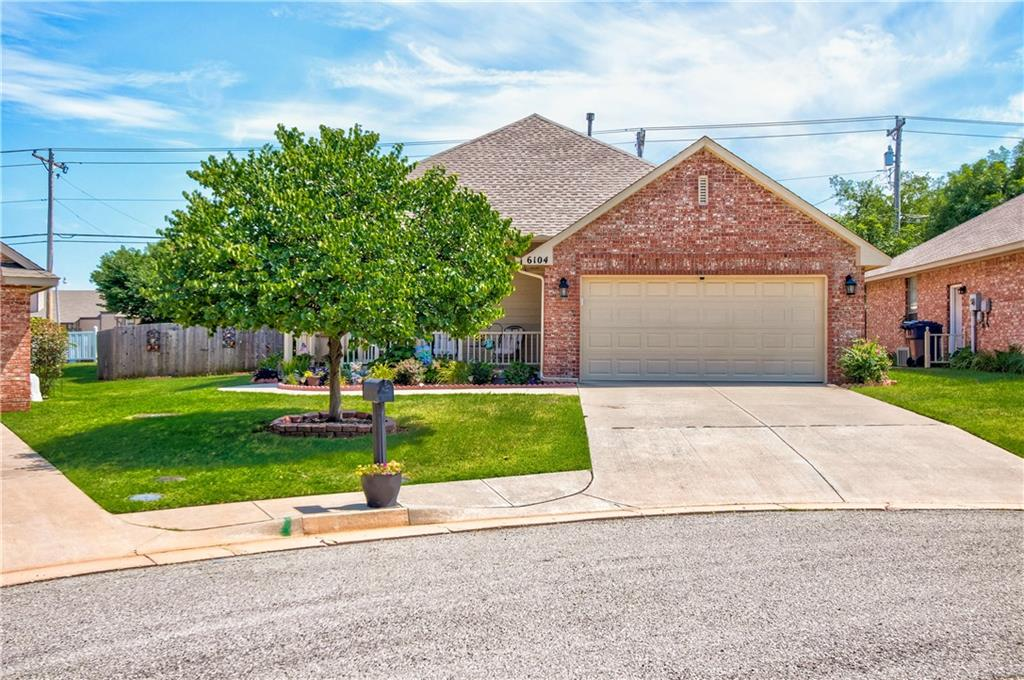 6104 NW 94th Terrace, Oklahoma City NW in Oklahoma County, OK 73162 Home for Sale