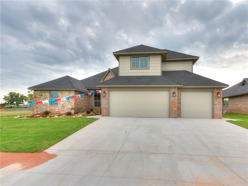 One of Oklahoma City Southwest 5 Bedroom Homes for Sale at 3908 Wedgewood Creek Drive