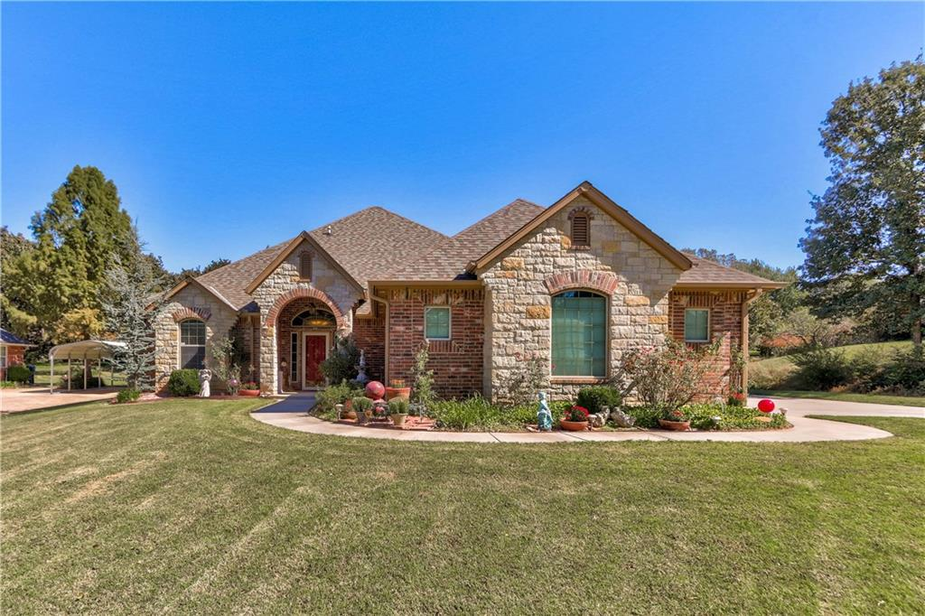 7224 Emerald Drive, one of homes for sale in Oklahoma City Southeast
