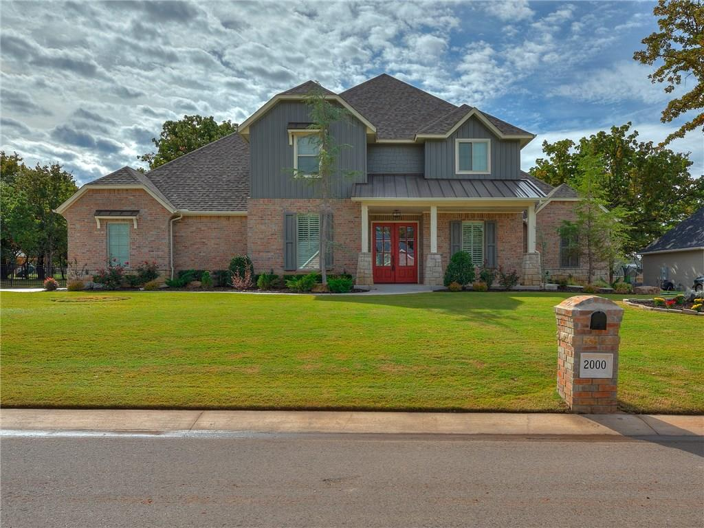 One of Edmond 4 Bedroom Homes for Sale at 2000 Roveto Court
