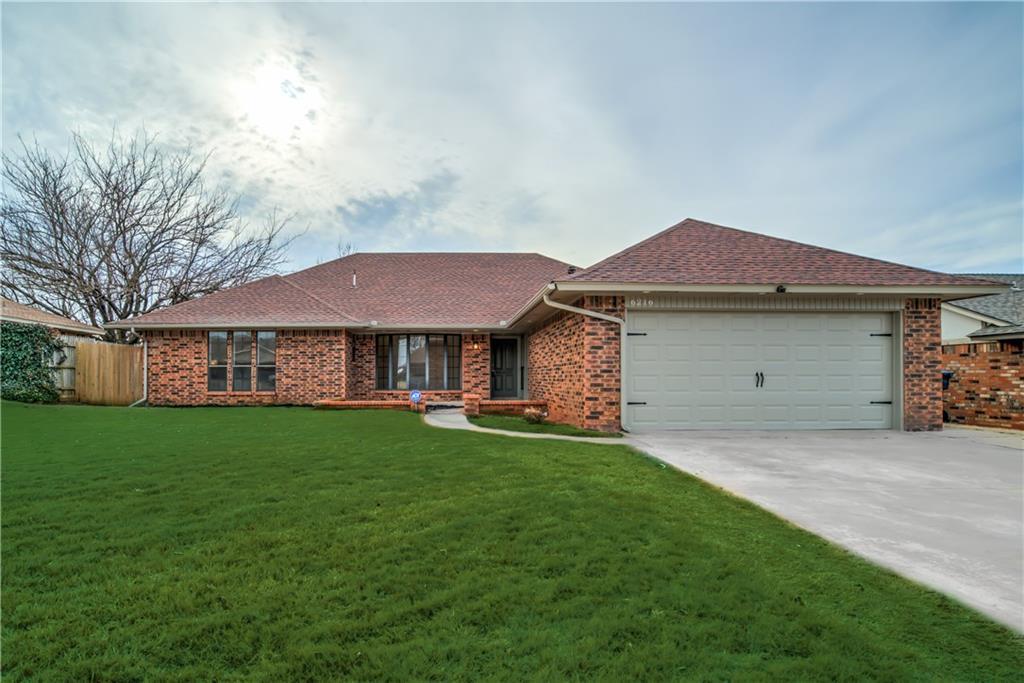 6216 SE 55th Street, Oklahoma City Southeast in Oklahoma County, OK 73135 Home for Sale