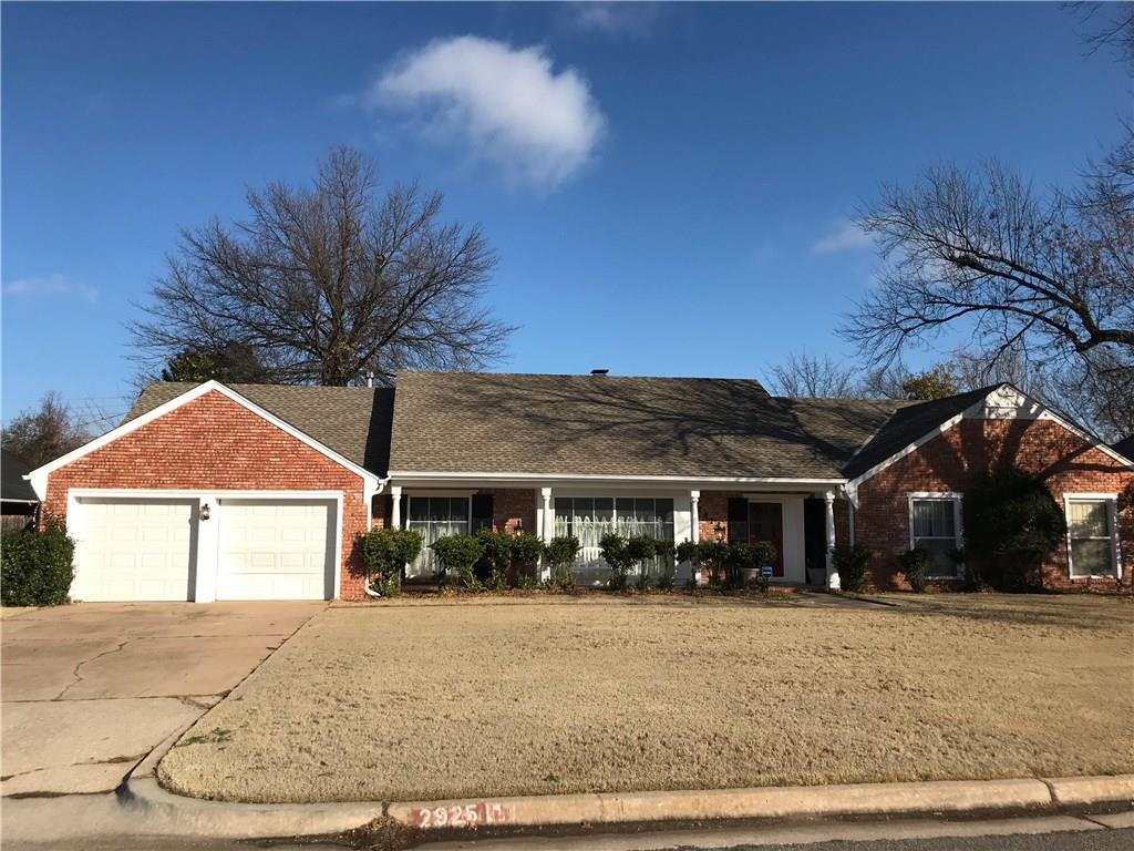 2925 Pelham Drive, Oklahoma City NW in Oklahoma County, OK 73120 Home for Sale