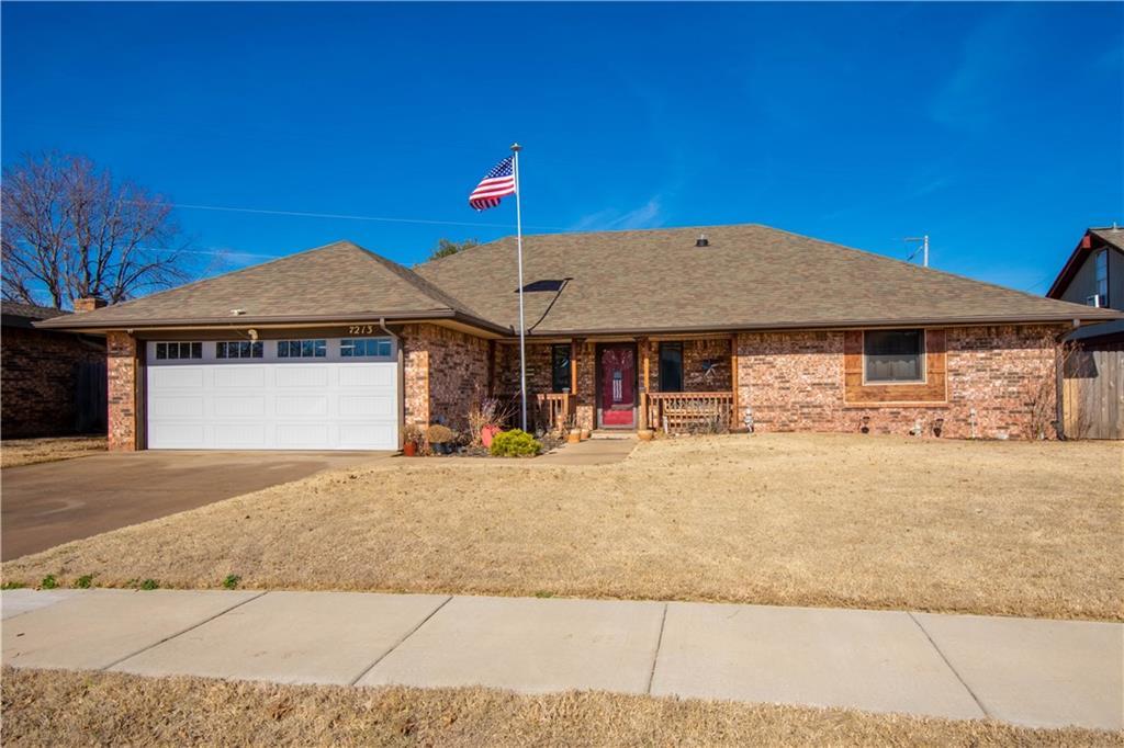 7213 Skylark Lane, Oklahoma City NW in Oklahoma County, OK 73162 Home for Sale
