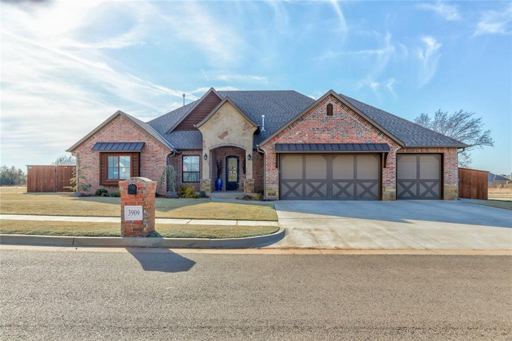 3909 Bridge Wood Lane, one of homes for sale in Oklahoma City Southwest