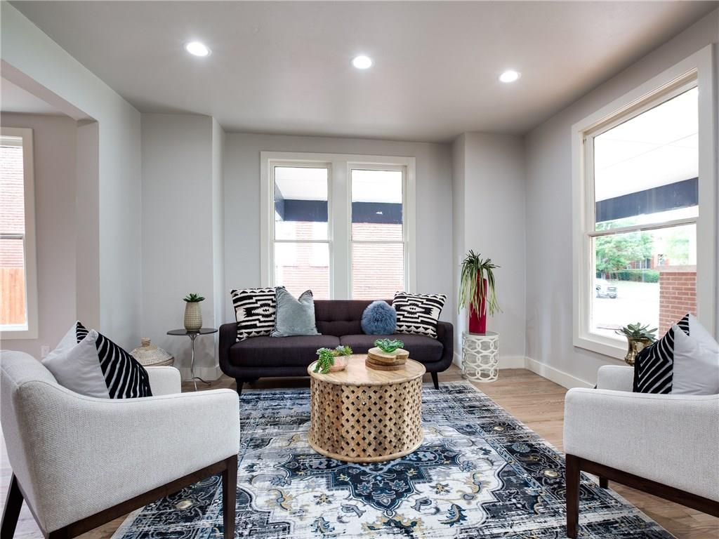 One of Oklahoma City Central 3 Bedroom Homes for Sale at 124 NW 17th Street
