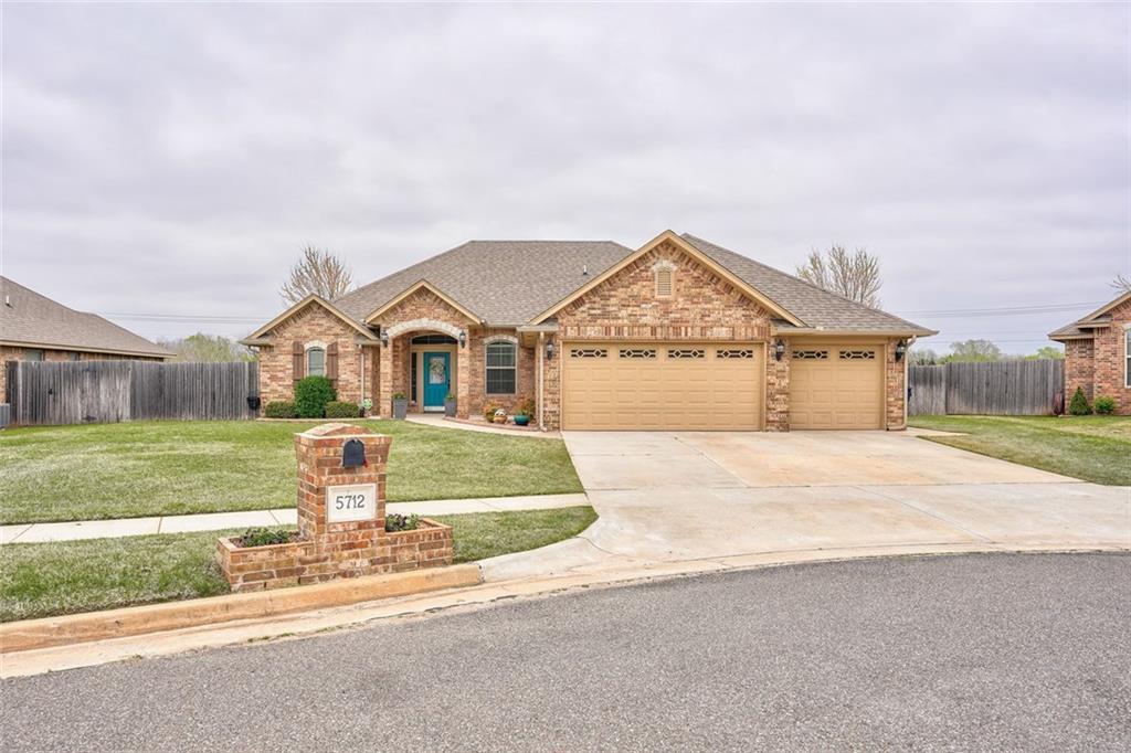 5712 Bent Creek Drive, Oklahoma City Southeast, Oklahoma