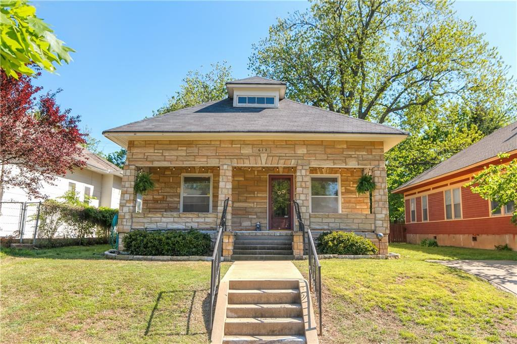 One of Oklahoma City Central 3 Bedroom Homes for Sale at 612 NW 19th Street
