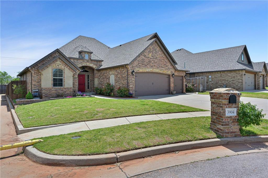 One of Oklahoma City Southwest 3 Bedroom Homes for Sale at 3904 Chesterfield Place