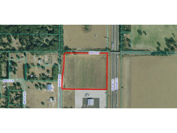 14.11 acres by Ocala, Florida for sale