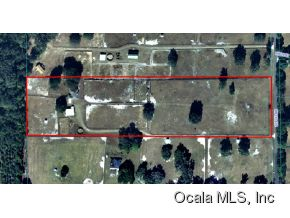 14 acres in Morriston, Florida