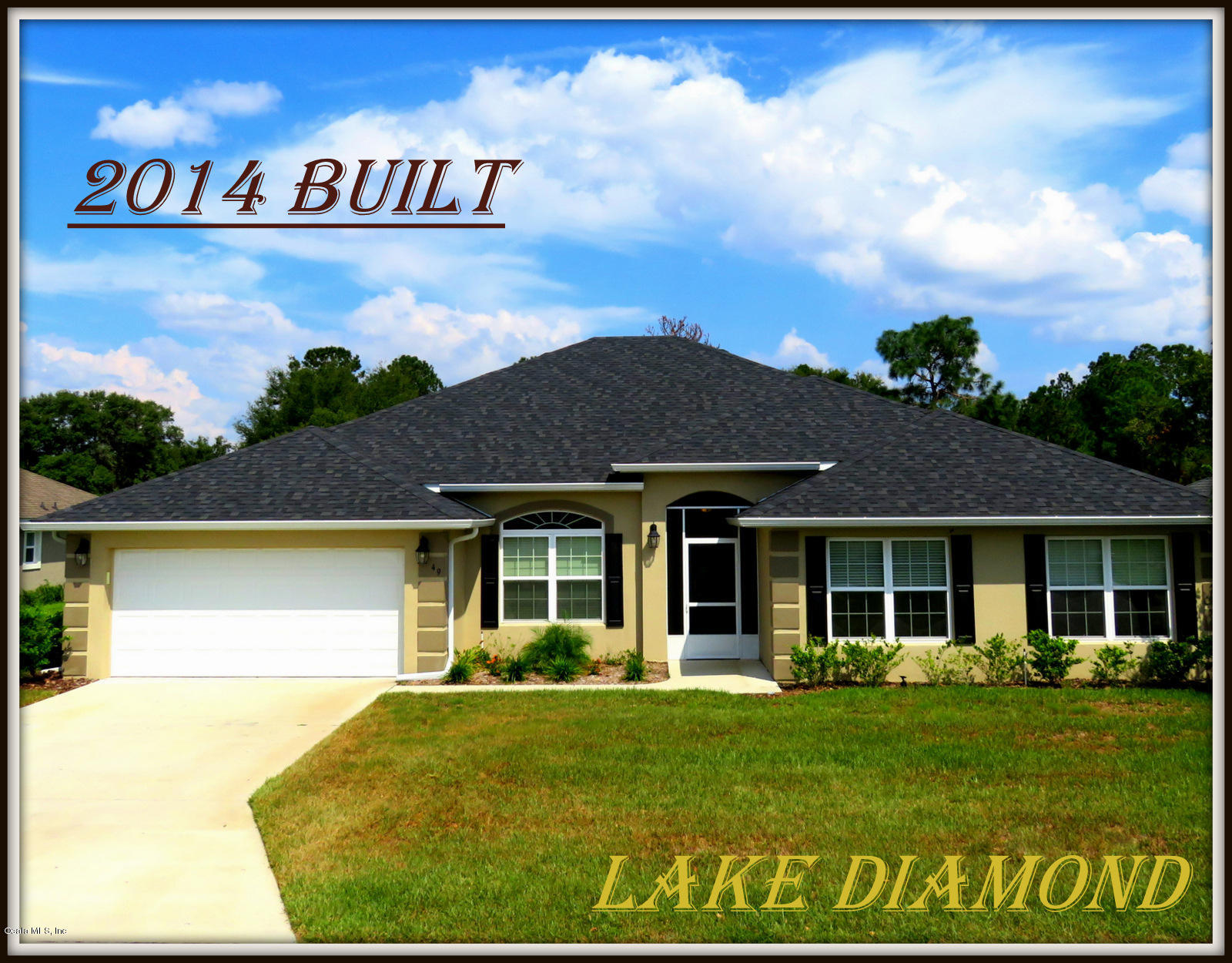 One of Ocala 4 Bedroom Homes for Sale at 49 DIAMOND CLUB Road