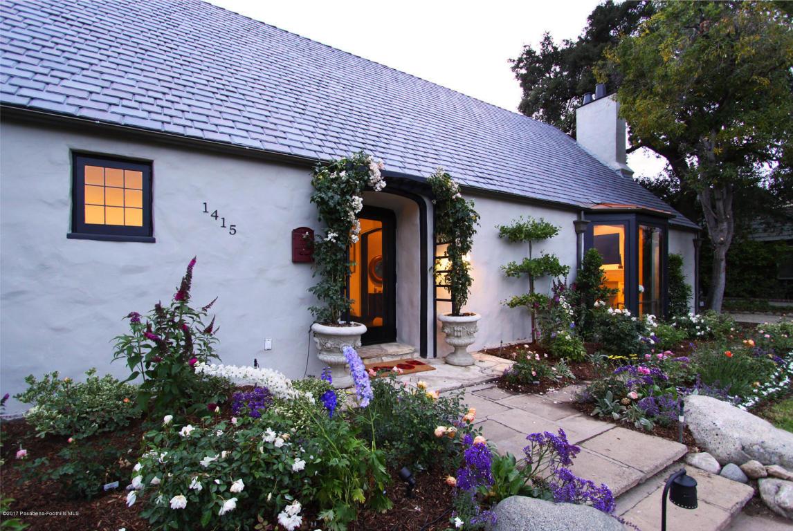 Photo of 1415 Parkview Avenue  Pasadena  CA