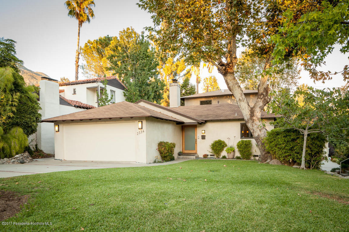 2534 Page Drive, Altadena in Los Angeles County, CA 91001 Home for Sale