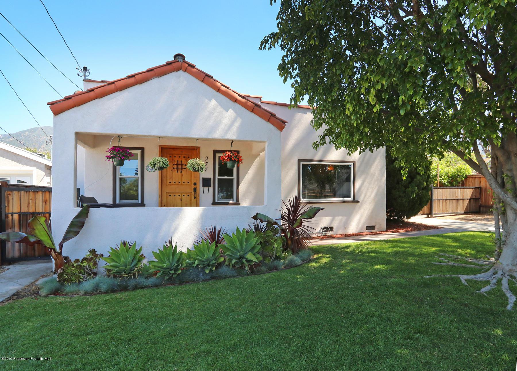 277 W Poppyfields Drive, Altadena in Los Angeles County, CA 91001 Home for Sale