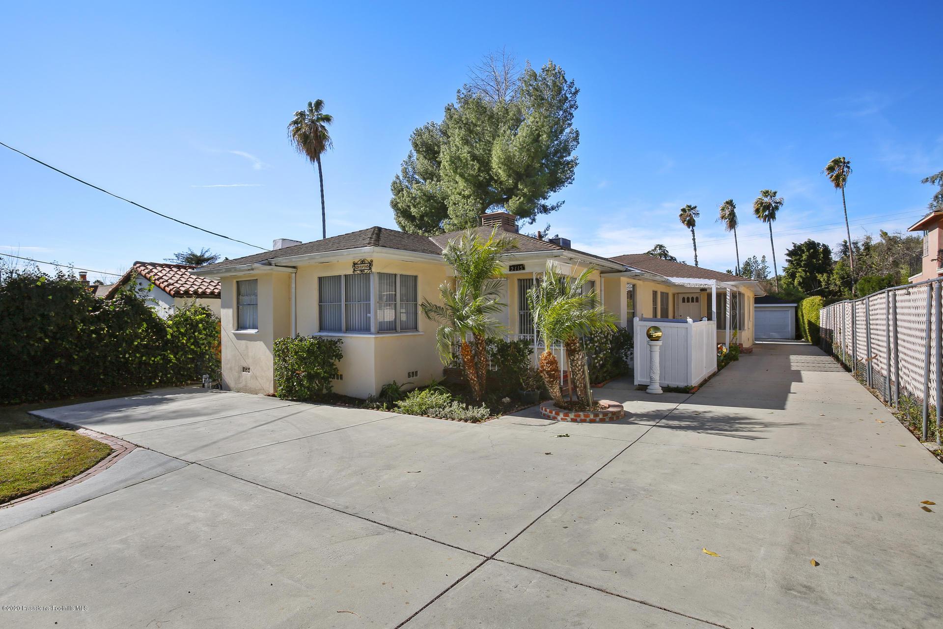 2115 El Molino Avenue, Altadena in Los Angeles County, CA 91001 Home for Sale