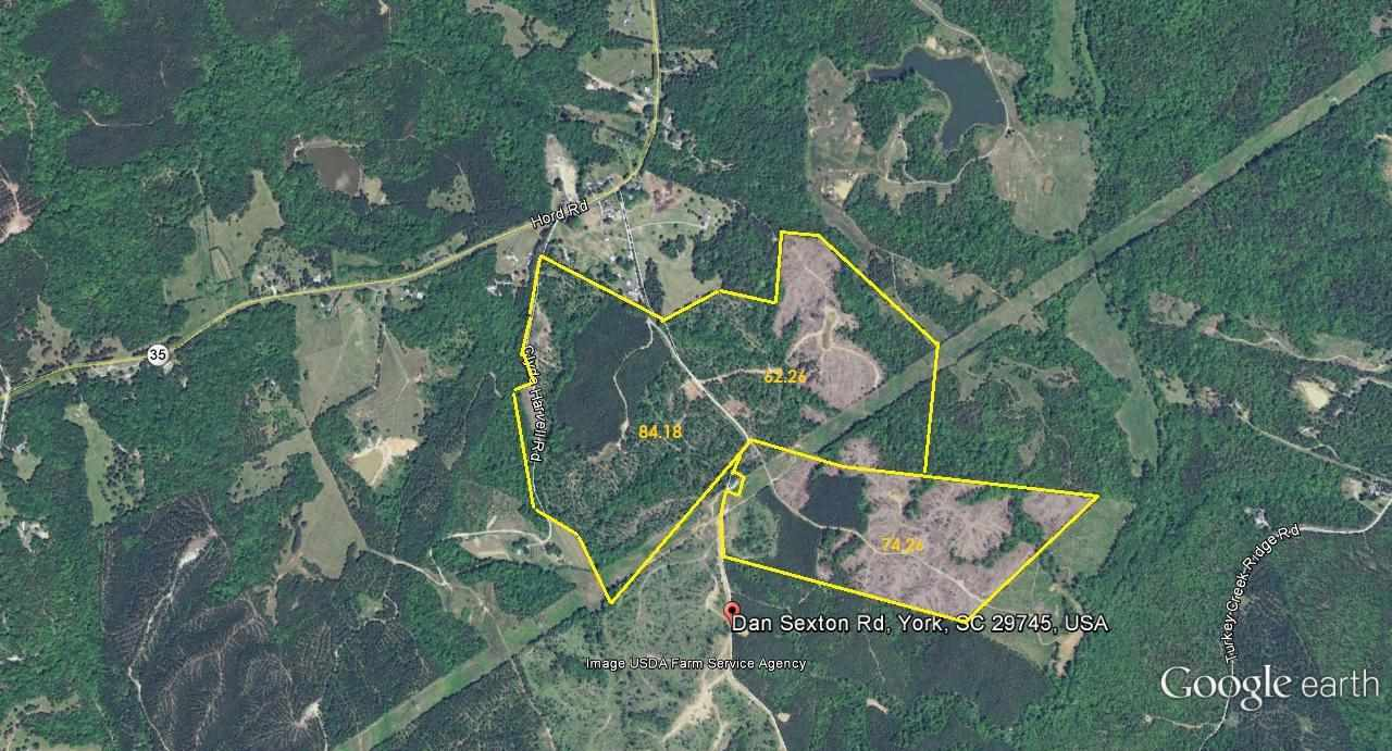 Land for Sale, ListingId:25362728, location: 222 Ac Dan Sexton Rd York 29745