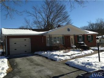 Rental Homes for Rent, ListingId:26686616, location: 4602 Darby ST Upper Saucon 18034