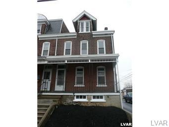 Rental Homes for Rent, ListingId:27296455, location: 232 N Franklin ST Allentown 18102