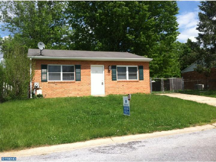 Rental Homes for Rent, ListingId:23576403, location: 22 ARCHER CIR Newark 19702