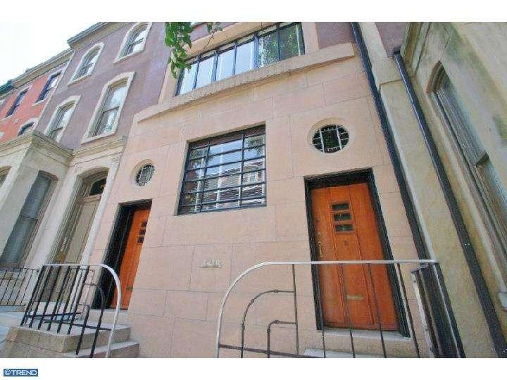 Rental Homes for Rent, ListingId:27510827, location: 2210 DELANCEY PL Philadelphia 19103