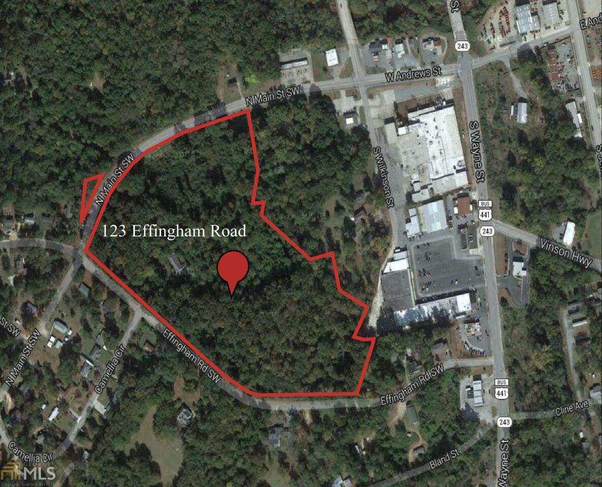 123 Effingham Rd Milledgeville, GA 31061
