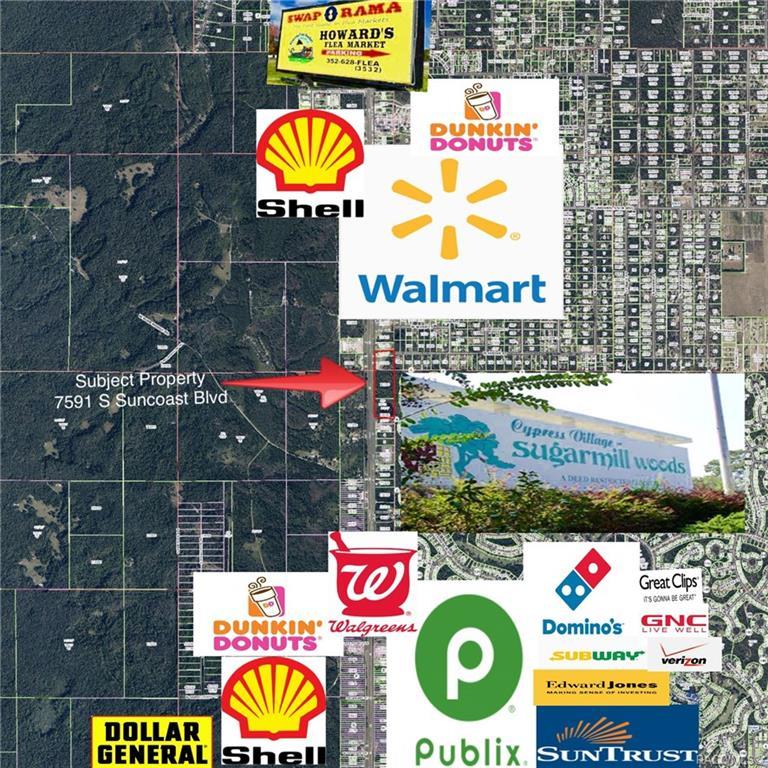 7591 S Suncoast Boulevard Homosassa, FL 34446