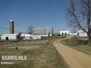 Image of Acreage w/House for Sale near Lena, Illinois, in Stephenson county: 34.97 acres