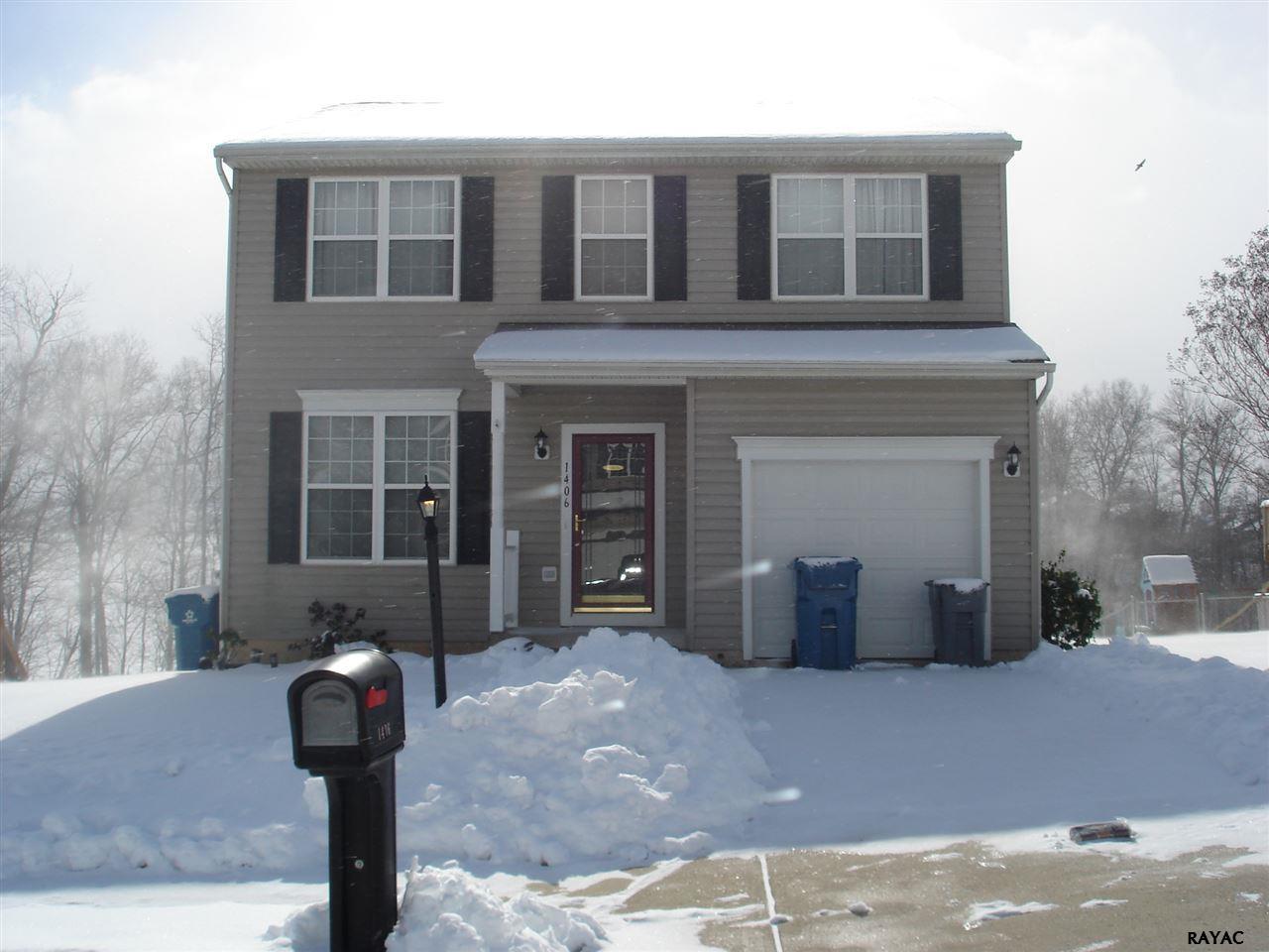 Rental Homes for Rent, ListingId:37267001, location: 1406 Wanda Drive Hanover 17331