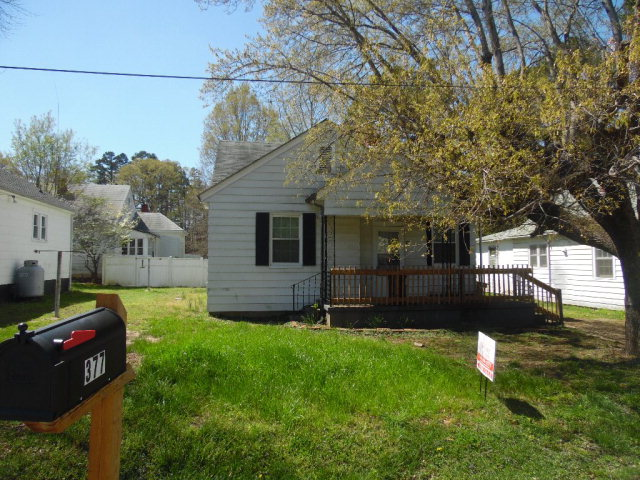 Photo of 377 PARKWAY AVENUE  Yanceyville  NC