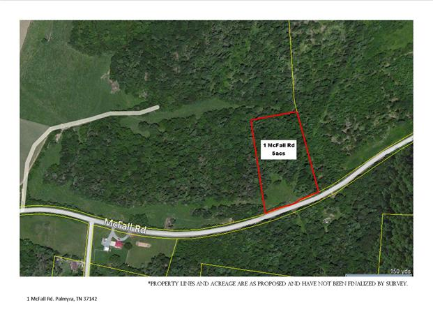5 acres in Palmyra, Tennessee