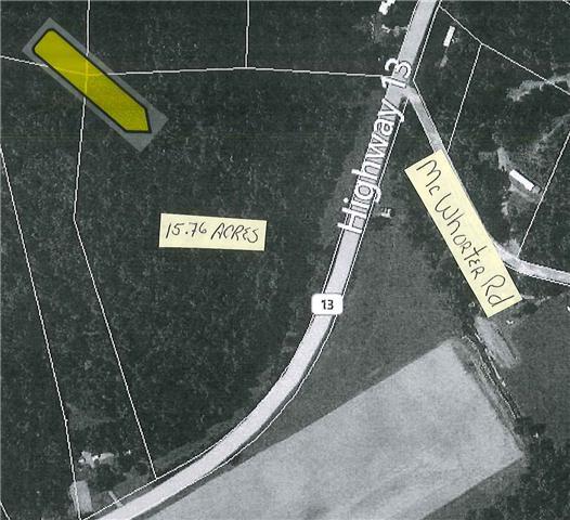0 Hwy 13, Cunningham, TN 37052